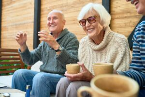 Craft & Communicate   Happy Group of Seniors