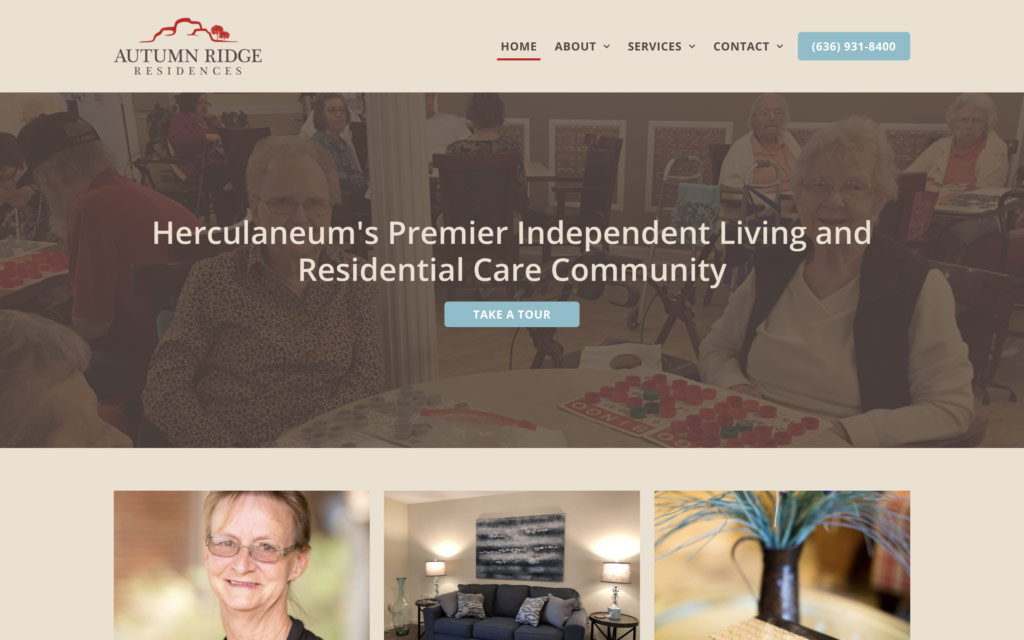 Autumn Ridge Residences | Website