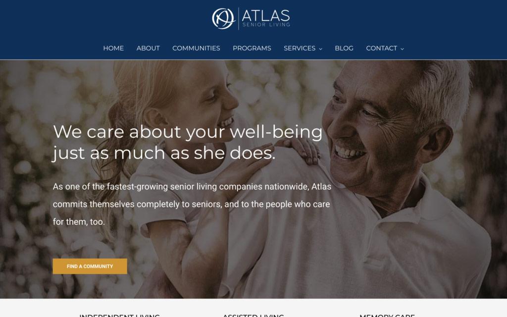 Atlas Senior Living | Website