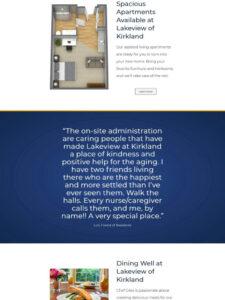 Lakeview of Kirkland | Website