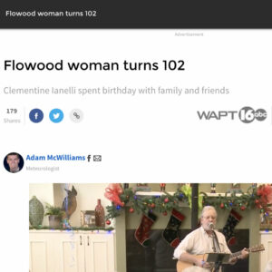 Craft & Communicate | Flowood Woman Turns 102 | News Story