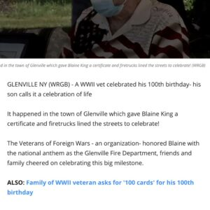 Craft & Communicate | Veteran's birthday | News Story