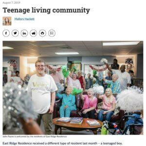 Craft & Communicate | Teenage Living Community | News Story