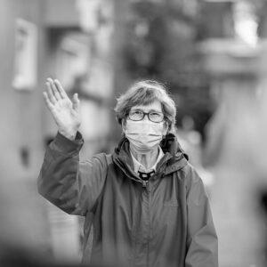 Craft & Communicate | Senior waving